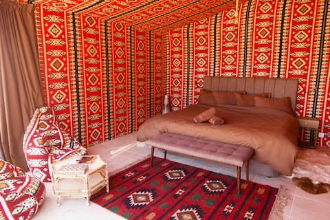Arabian Nights Ensuite Double Tent with Balcony