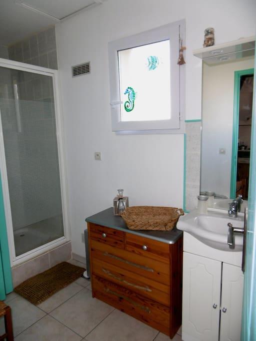 Salle d'eau - wc séparés