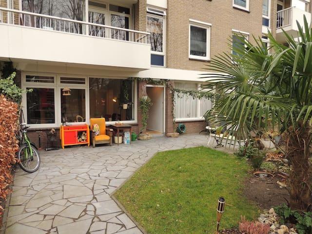 Nice appartment with garden, near by centrum - Utrecht - Daire