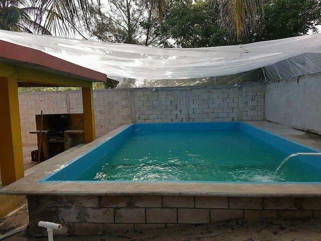 Chuburna Puerto. casa de verano - Chuburná