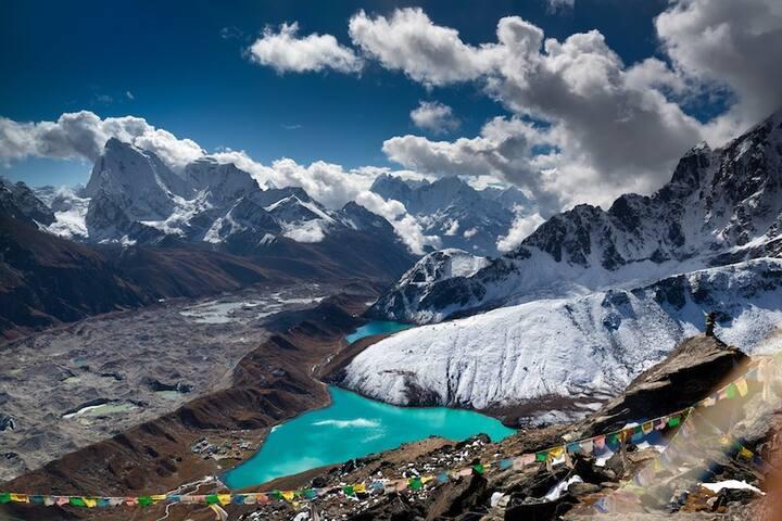 Beautiful Lake of Nepal.