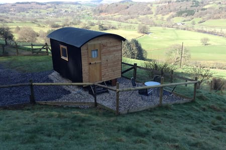 "Shepherds Hut "" Megan""at yn-y-fron - Llandderfel - Hütte"