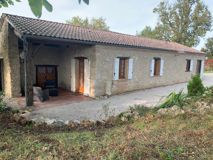Occitanie/Quercy : Maison de campagne