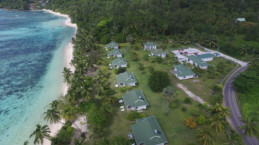 Chalets d Anse Forbans Sleeps 4 On the beach