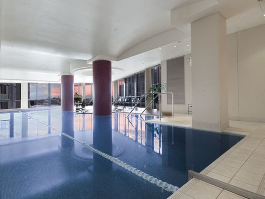 Indoor Heated Pool with Spa