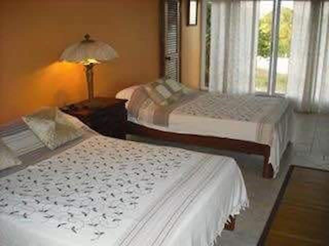 beach condo bedroom