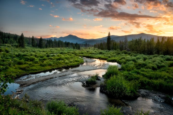 Winter Park offers miles of streams and rivers and endless acres of high mountain lakes.