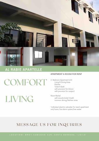 Apartment for Rent near Iloilo Int'l Airport