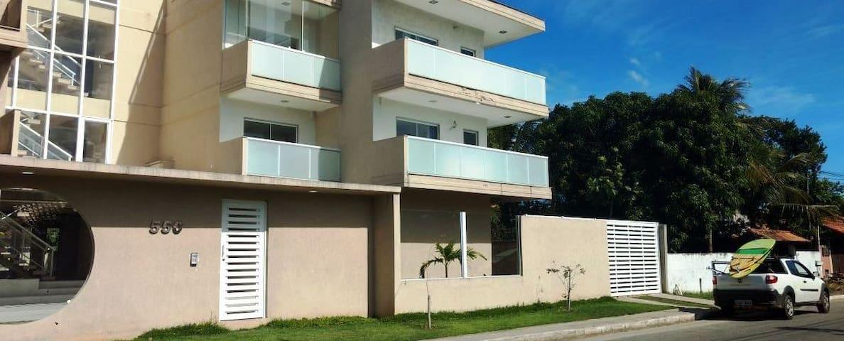 Apartamento Novo no Paraíso do Surf