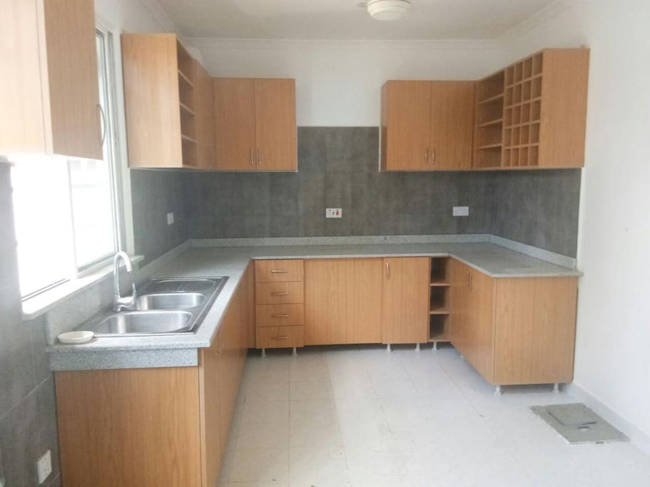 cabineted kitchen