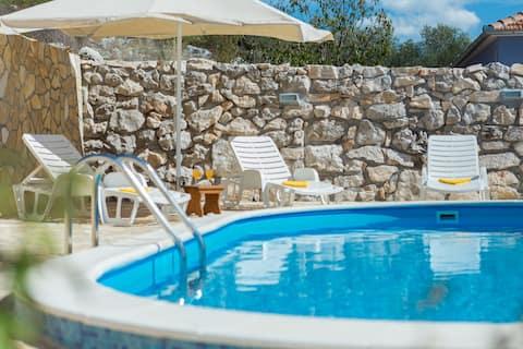 Villa Stara Kula with private pool