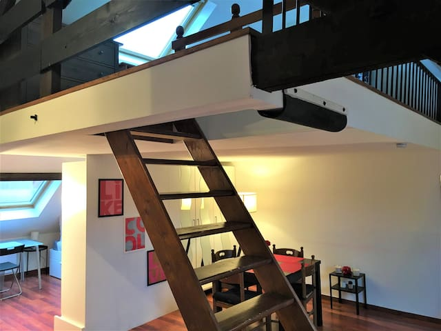 🌹Superbe loft à Lille Cormontaigne + parking🚘