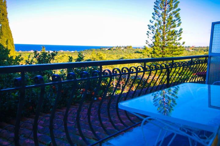 Sea View apartment near Tsilivi. - Dilesi - Daire