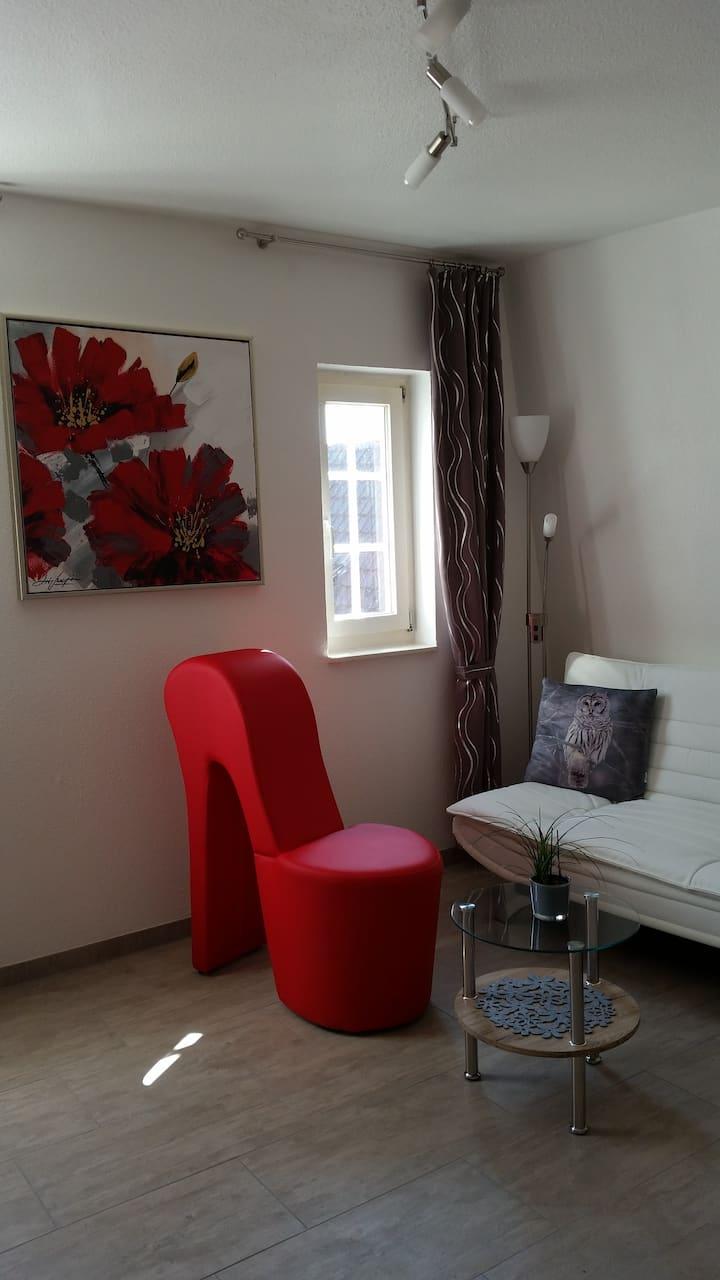 CityFeWo 35qm modern quiet in N.Ludwigsburg u Stgt