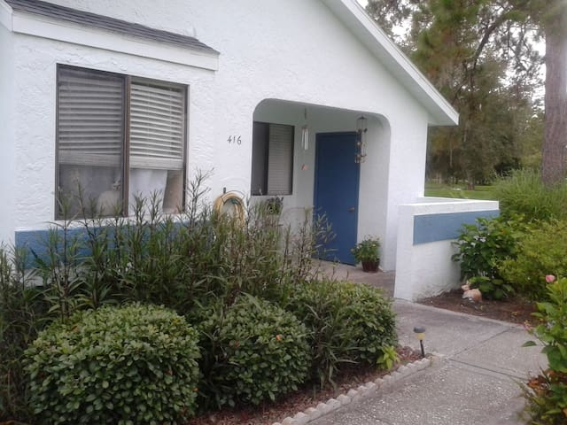 Bedroom/Bath-Private Entrance with amenities. - Oldsmar