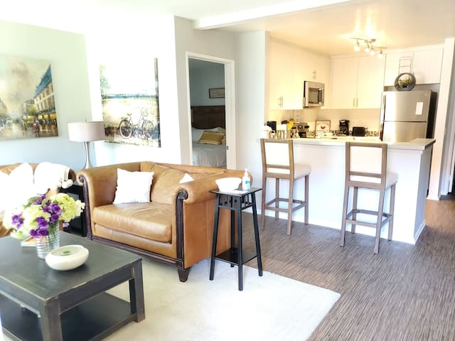 Newly Remodeled Charming Apartment Home Near Beach