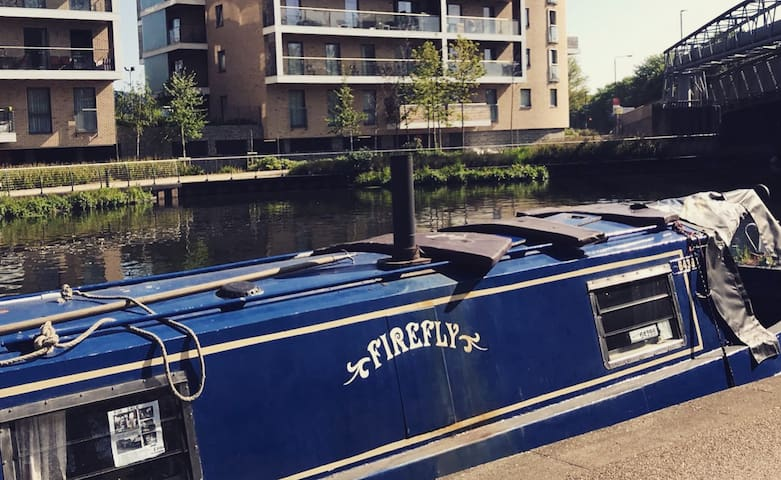 Super cute 45ft narrowboat in East London