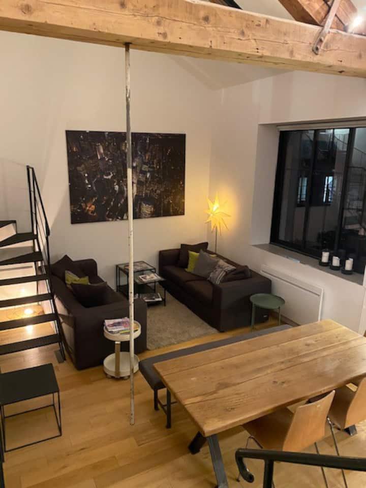 LOFT ACADEMY - Neuf  - hyper centre - calme-80 m2