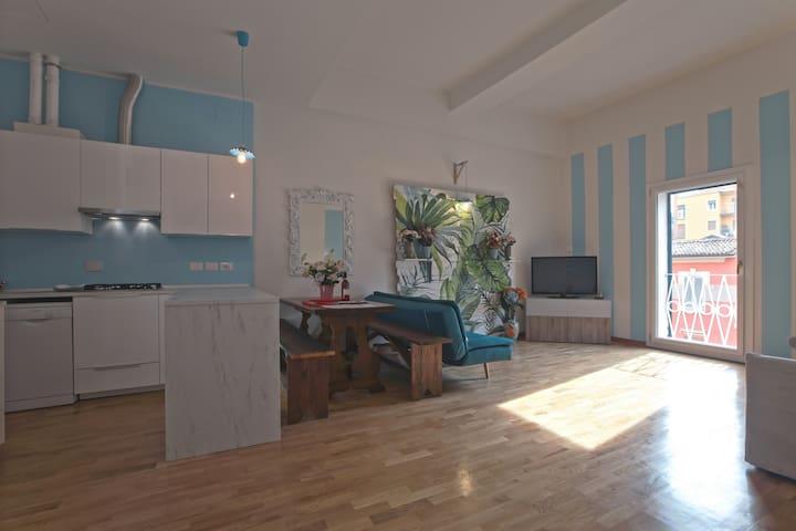 Saragozza Apartment 3: Bright and central flat