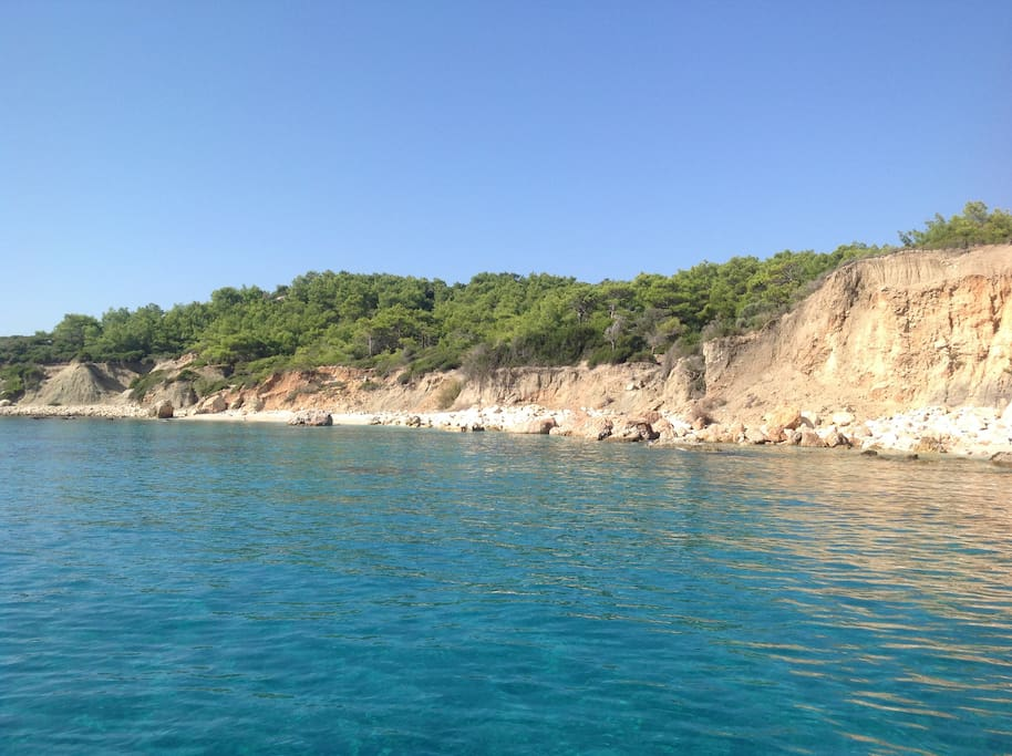 Taken from one of the many boats that provide day trips from Kalkan Harbour