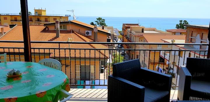 Casa vacanze a 120 metri dal mare Ionio