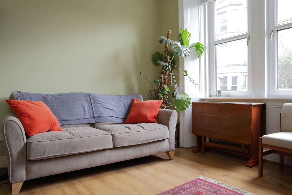 Same room with sofa bed put away - should you want to chill