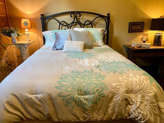 Downstiars Queen bed