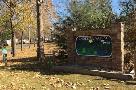 Choestoe Valley RV Park - Lot 11 on the creek - Blairsville - Wohnwagen/Wohnmobil