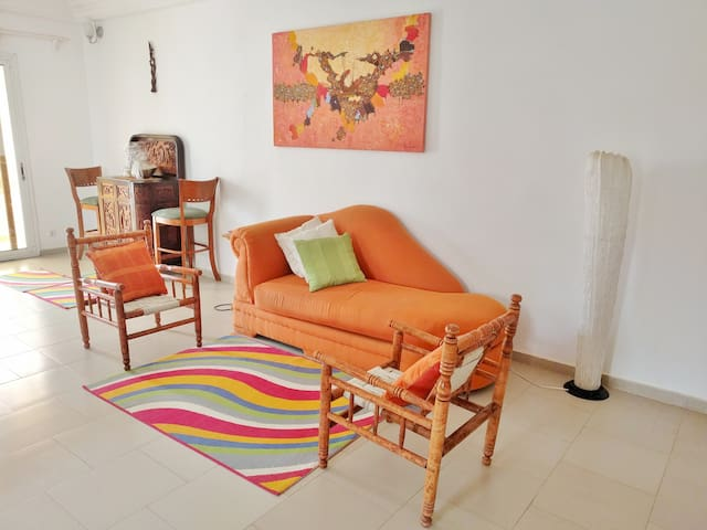 Bright African Haven apartment near everything