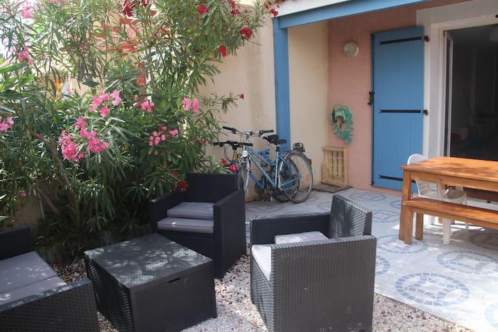 Jolie maison familiale proche plage toute équipée - Le Barcarès - Rumah