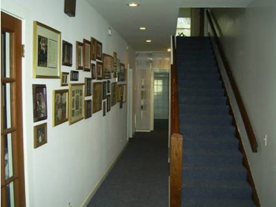 Hallway entrance with picture wall (Main House