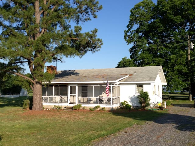 Sunset Cottage on the Rappahannock - Lancaster - Hus