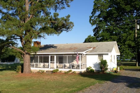 Sunset Cottage on the Rappahannock - Lancaster - Casa