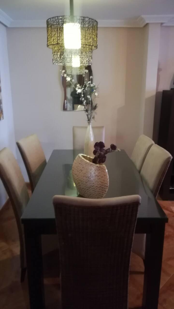 María's home