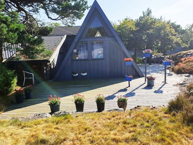 Fantastic Sea Cottage on Justøya Island, Lillesand