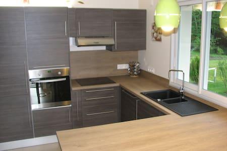 Beau Duplex contemporain neuf très lumineux - Saint-Romain-de-Jalionas - Apartemen
