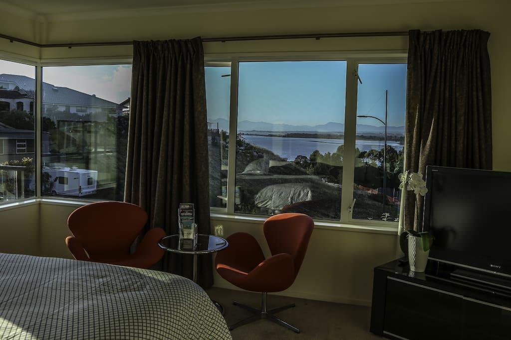 Veiw from bedroom window.