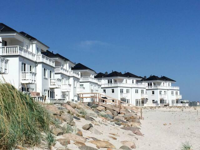 4-Zi-Ferienhaus STRAND HUS direkt (!) am Strand