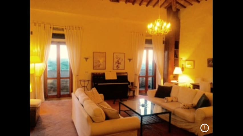 Fabulous apartment in Tuscan Castle - Panzano In Chianti - Castle