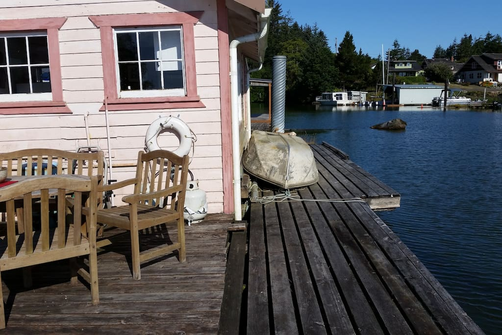 Back Deck and boat launch