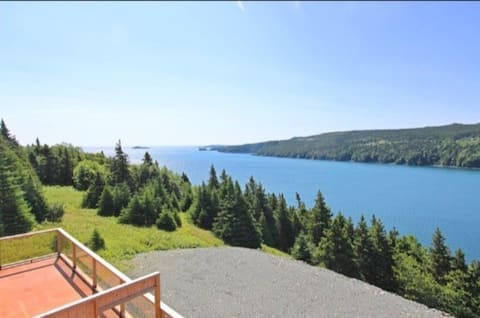 Capelin Bay Place-Watch the Whales from our Patio!
