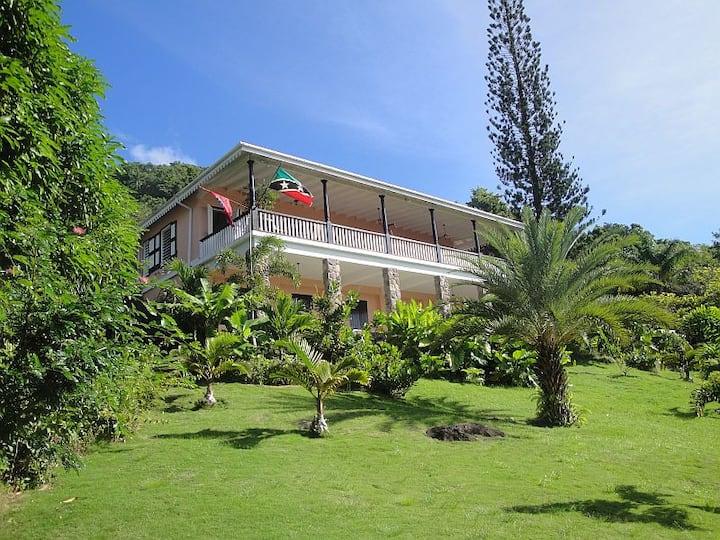 Bacchus Field - Magnificent Caribbean Villa
