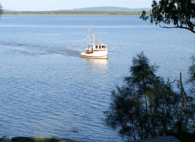 ..A local prawn boat in the 24 hour movie on your doorstep..
