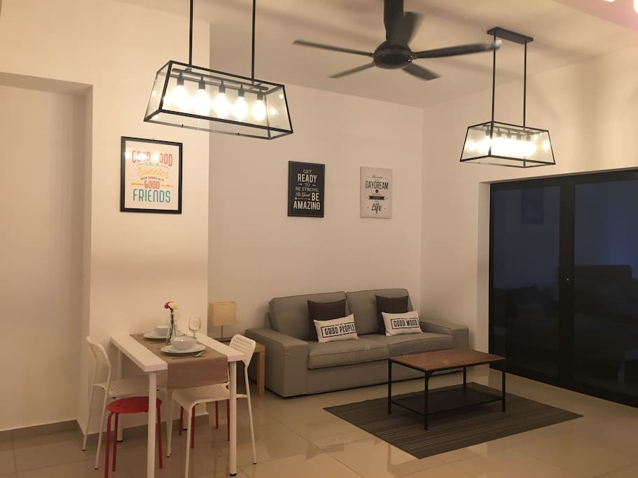 Living Hall and dining area
