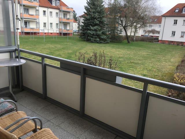 schöne möblierte Wohnung nähe Cospudener See - Markkleeberg - Appartement