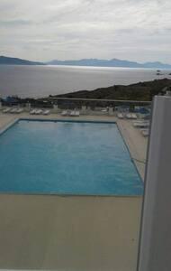 Deniz ve Kos manzaralı villa 2+1 - bodrum palamut mevki akyarlar - Casa