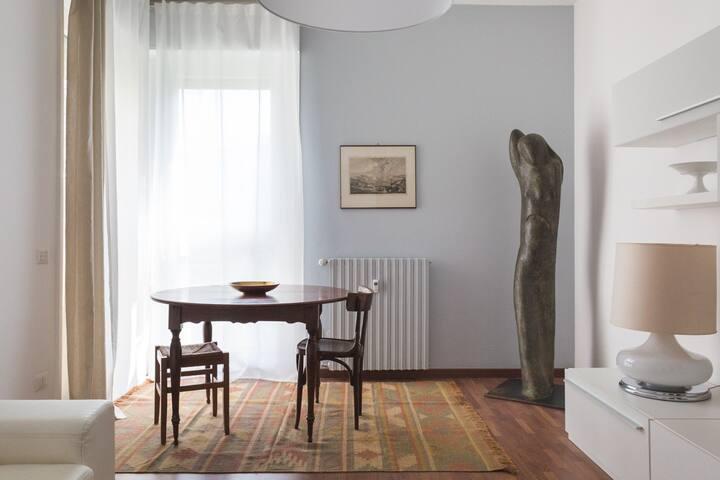 """Confortevole appartamento nel """"green"""""""