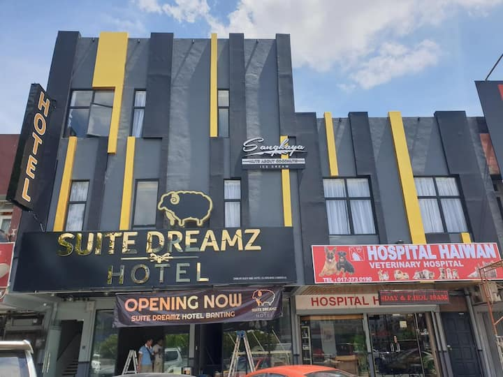 Dreamy Stay at Suite Dreamz Hotel Banting