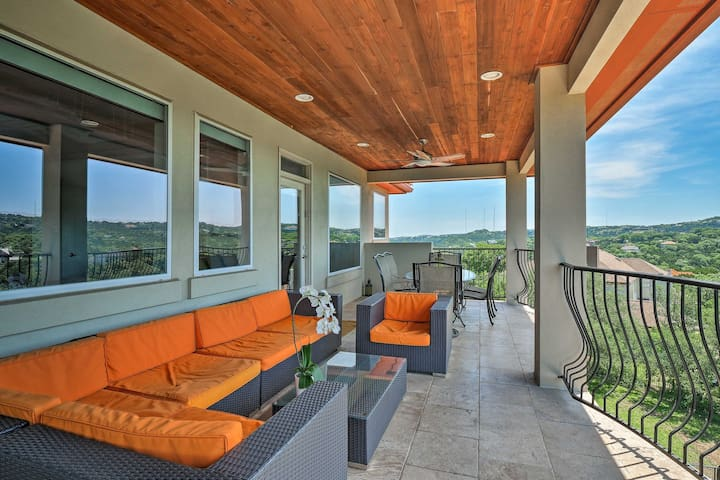 Experience the epic views from this beautiful furnished balcony!