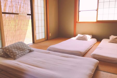 Cozy&Peaceful Home stay~Japanese room~MAX 5people
